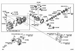 Front Axle Housing  U0026 Differential For 2006