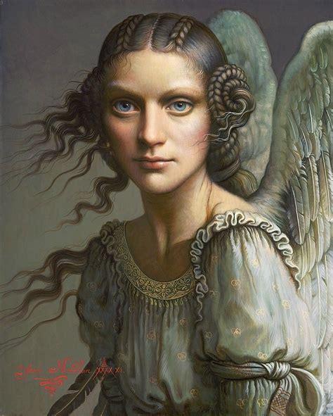 yana movchan angel art magic realism art