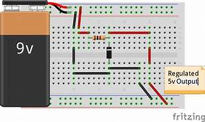 Wiring A Zener Diode As A Voltage Regulator