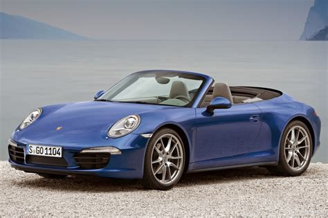 blue porsche convertible 2016 porsche 911 convertible pricing for sale edmunds