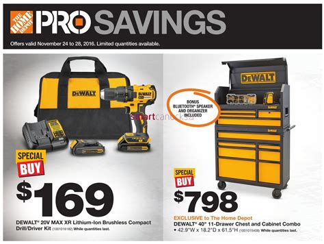 Home Depot Pro Savings Flyer November 24 To 28