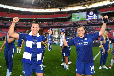 Arsenal Women v Chelsea Ladies SSE Womens FA Cup Final ...