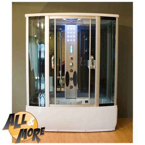 Box Doccia Con Sauna by All More It Cabina Box Doccia Con Sauna Optional 170x85