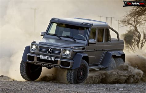 Price For Mercedes Benz G63 Amg 66 544 Hp Pick Up Series