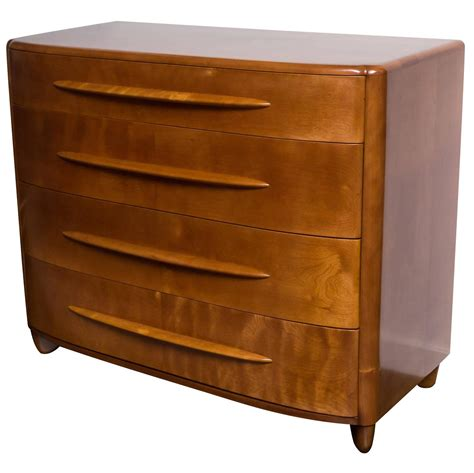 heywood wakefield four drawer low dresser at 1stdibs