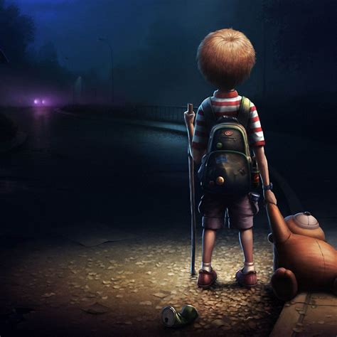 Animated Lonely Boy Wallpapers - animated wallpaper
