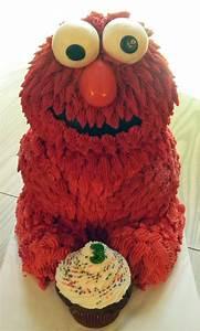 3d Baby Elmo Cake Tutorial | The Cake Class