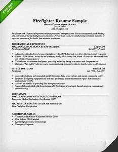 how to write a military to civilian resume resume genius With firefighter resume template