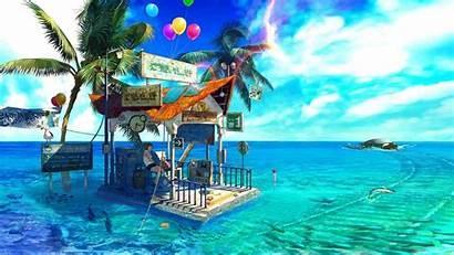 Anime Pool Park Water Swimming Sea Amusement