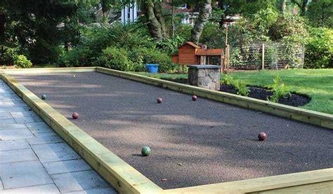 backyard bocce court dimensions pittsburgh landscape design backyard bocce court