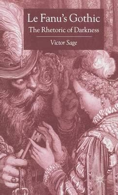 Le Fanu S Gothic 2004 Victor Sage 9780333677551
