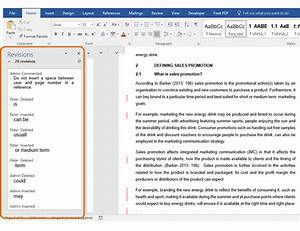 working with comments and track changes in ms word test With documents 5 use
