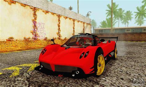 Pagani Zonda Type R Red For Gta San Andreas