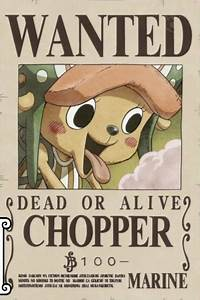 Image - Tony Tony Chopper's Current Wanted Poster.png ...
