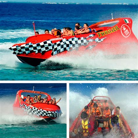 Boat Ride Cancun by Jet Boat Ride Cozumel