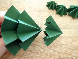 diy tannenb 228 umchen aus papier falten sternenwind blog