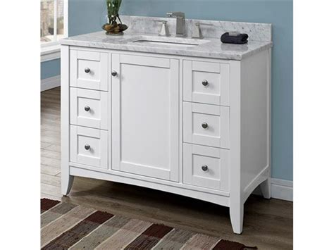 bathroom vanities 42 inches wide 1804hamlt42fw 1 42 inch traditional single sink bathroom