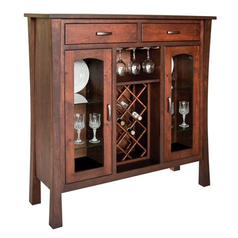 wine furniture cabinets woodbury collection wine cabinet amish crafted furniture