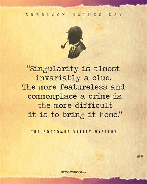 sherlock holmes quotes awaken detective inner
