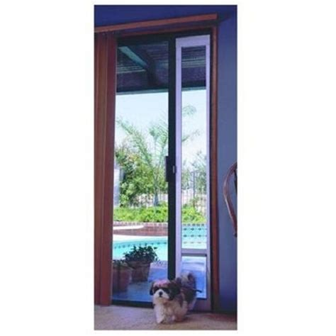 Pet Door For Patio And Sliding Doors - patio panel pet door cat sliding glass flap exterior