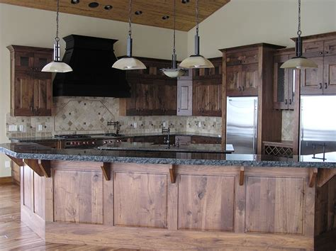 rustic black kitchen cabinets dazzling rustic walnut kitchen cabinets black 4961