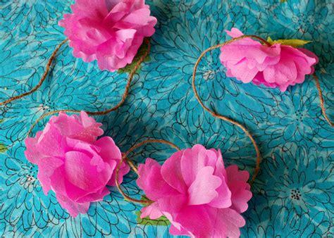 diy crepe paper flowers  tutorials guide patterns