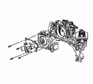 Replacing Water Pump On 2006 Cadillac Dts  Trying To