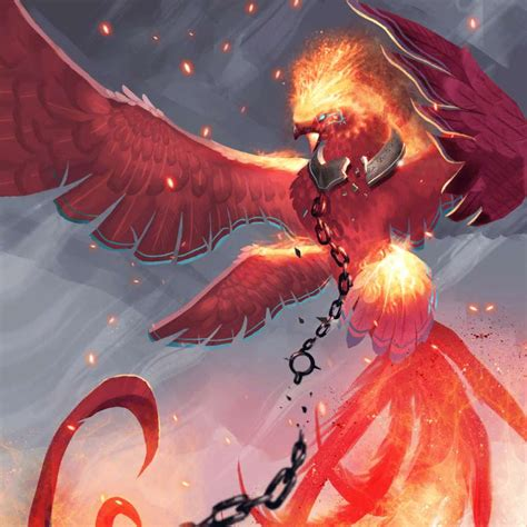 First Phoenix - Epic Wild Nature Creature - Gods Unchained