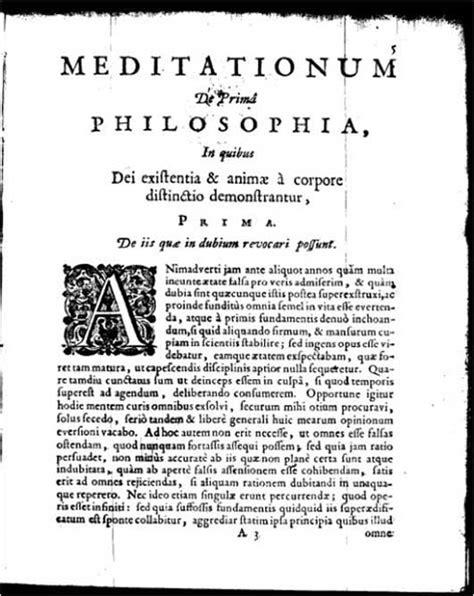 Essays on descartes second meditation