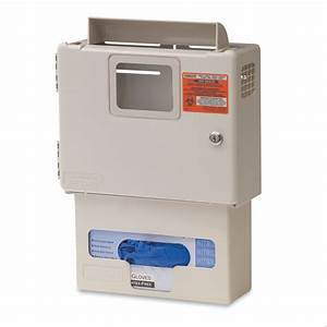 Sharps Container With Glove Dispenser