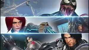 Marvel vs. Capcom: Infinite - Winter Soldier, Black Widow ...