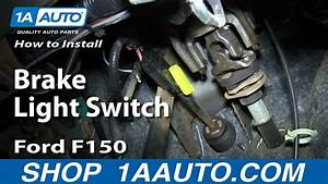 How To Replace Brake Light Switch 04