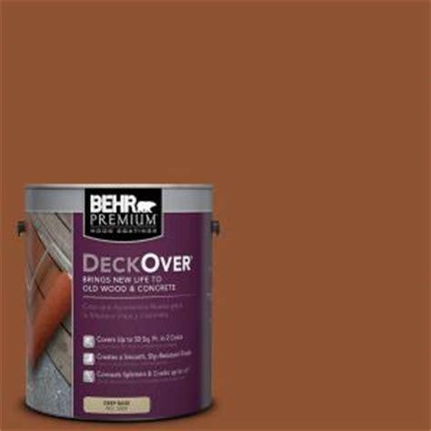 behr deck home depot behr premium deckover 1 gal sc 122 redwood naturaltone