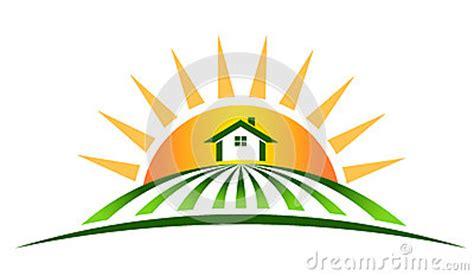 farm house  sun royalty  stock  image