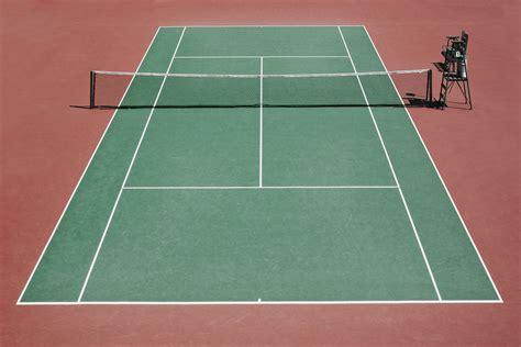 atelier de la cuisine tout savoir sur les dimensions d un terrain de tennis