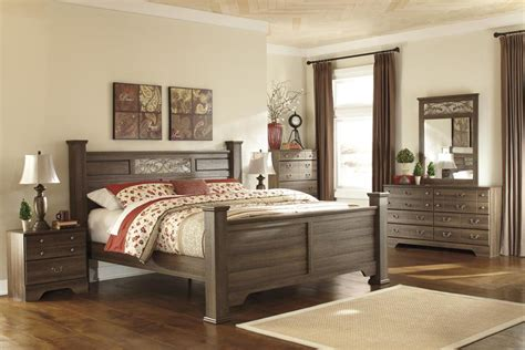 king size bedroom furniture sets ashley allymore b216 king size poster bedroom set 6pcs in 19003 | s l1000