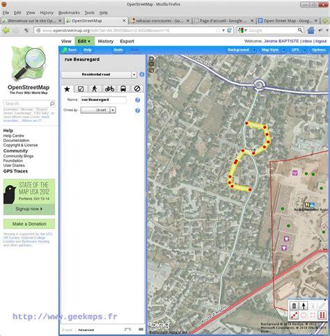open street map la carte libre