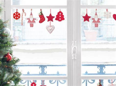 Weihnachtsdeko Fenstersticker by Fenstersticker Nostalgische Filzh 228 Nger Advent Deko