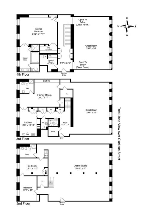 floor plan two sophisticated luxury apartments in ny includes floor