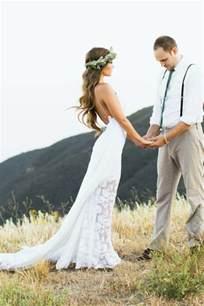 boho brautkleid grace lace hollie dress size 4 wedding dress oncewed