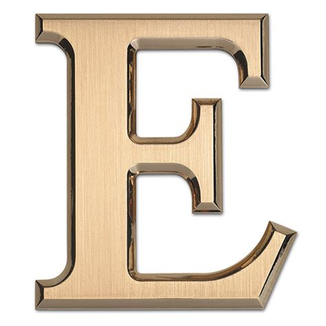 bronze metal letter    small intricate detail mm