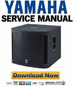 Yamaha Msr800w Subwoofer Service Manual  U0026 Repair Guide