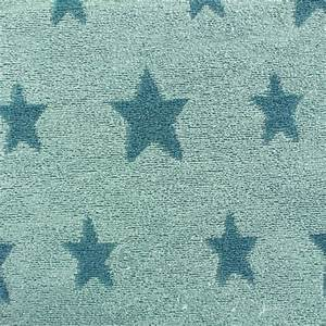 Tissu Velours Bleu Canard : tissu velours ponge coton stars bleu canard iceberg x 10cm ma petite mercerie ~ Teatrodelosmanantiales.com Idées de Décoration