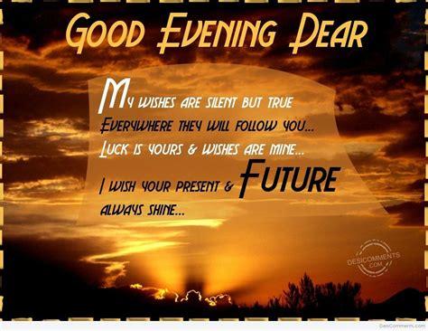 good evening dear desicommentscom