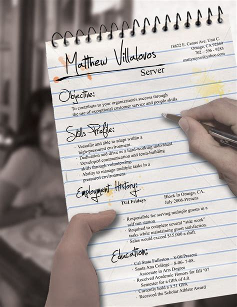 Best Creative Resume Format For Freshers by Crea Un Curriculum Vitae Impresionante Taringa