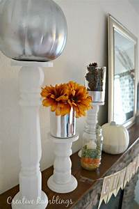 White, And, Silver, Glam, Fall, Mantle