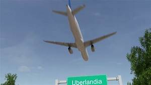 Airplane Arriving To Uberlandia Airport Travelling To Brazil By Moovstock