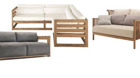 canapé en bois meubles en kit pour le jardin canapé dextérieur avec des