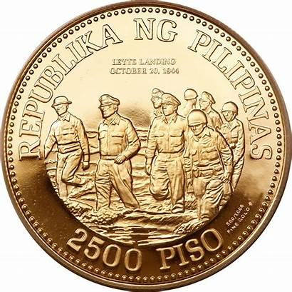 Peso Philippine Philippines Coins Coin Money Gold