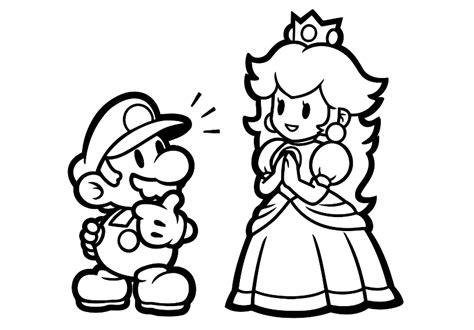 Kleurplaten Mario Bros by Kleurplaten Mario Kleurplaat U00bb Animaatjes Nl